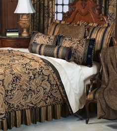 Langdon Collection from Eastern Accents    drool drool drool. but too many pillows