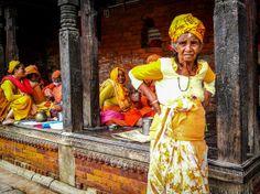 Kathmandu, Nepal - Travel - Photography - Art - Home Decor - Wall Art  - Yellow