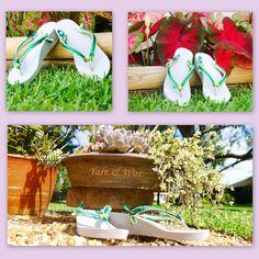 Beautiful high heels flip flops...... Visit our web shop on www.etsy.com/shop/yarnwire