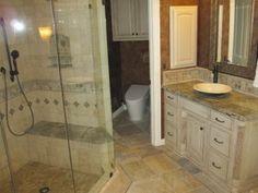 Pro #1958796 | GraniteWorks | Dallas, TX 75247 Master Bath Remodel, Glass Shower, Guest Bath, Kitchen Remodel, Countertops, Dallas, Bathtub, Standing Bath, Vanity Tops