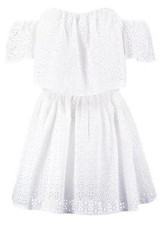 SONDRA - Robe d'été - blanc