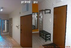 Zmiana przedpokoju. Changing the hallway. www.ciekawewnetrza.blox.pl