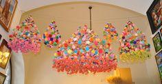 Lost & Found: Polish paper chandelier