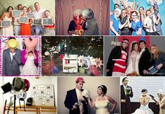 Photo Booths: Crazy Props.
