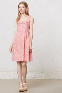 Greta Dress (with ruffled open back, so pretty)