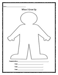 when i grow up activities and free printable for kids activities include pretend play. Black Bedroom Furniture Sets. Home Design Ideas