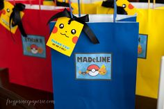 Pokemon birthday party ideas to create an easy-to-do but cool to look at birthday party!