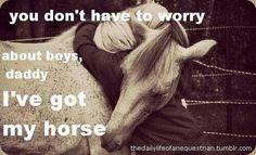 Yep. Horses are better.