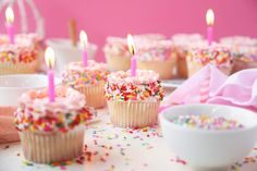 Inspired Photo of Birthday Cake Bakery Birthday Cake Bakery Vanilla Birthday Sprinkle Cupcakes The Candid Appetite Sprinkle Cupcakes, Love Cupcakes, Vanilla Cupcakes, Vanilla Cake, Flavored Cupcakes, Summer Cupcakes, Gourmet Cupcakes, Strawberry Cupcakes, Birthday Cake Bakery