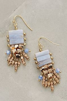 Shop for Sirenia Drops by Anthropologie at ShopStyle. Boho Jewelry, Jewelry Box, Jewelry Accessories, Fashion Accessories, Handmade Jewelry, Jewelry Design, Fashion Jewelry, Jewelry Making, Silver Jewellery