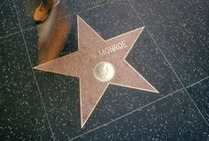Marilyn Monroe on the Hollywood Walk of Fame