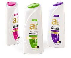 A PLUS Shampoo on Packaging of the World - Creative Package Design Gallery