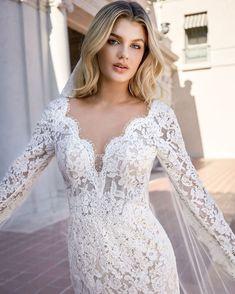 34 Best Long Sleeve Wedding Dresses Images In 2020 Jasmine