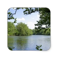 Shenandoah River Square Sticker