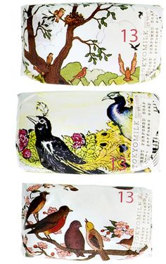 tokyomilk soap.   Peacocks and birds. PD