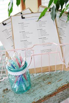 Budget Bridal Shower Decor and Ideas