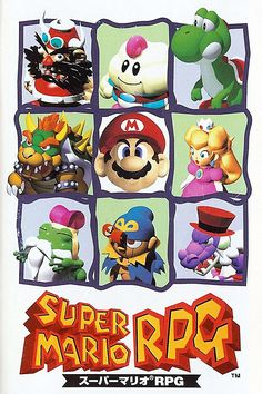 SFC『スーパーマリオRPG』