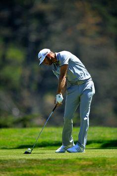 Dustin Johnson Photos Photos - World Golf Championships-Cadillac Match Play - Round Two - Zimbio Dustin Johnson, Mens Golf Outfit, Round Two, Cadillac, Golf Clubs, Yacht, Golfers, Photos, Candle