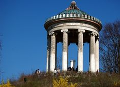 When visiting the Englischer Garten of Munich go further south. at the top of a gentle hill there is a small Greek temple called the Monopteros. There you have a nice view over the garden and parts of the city. It's free and a nice spot in summer to watch other people around and listen to the music of some street artists. Google Map of all DrupalCon Munich hot spots: g.co/maps/4hxqf. More: tw...