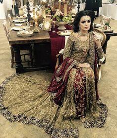 maroon bridal dress pakistani bridal dress pakistani