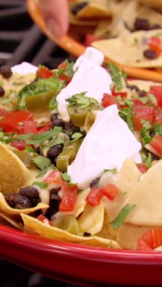 Jeff takes on a favorite bar food with his Cheesy Beerbit-Covered Nachos.