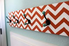chevron DIY rack