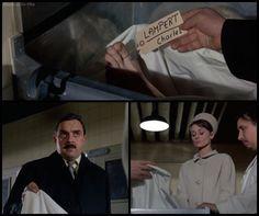 Charade: Audrey Hepburn and Jacques Marin