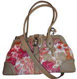 Women's Etienne Aigner Purse Handbag Flora Collection Pink Floral