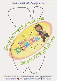 Miss Dorita: Abecedario Grande 3