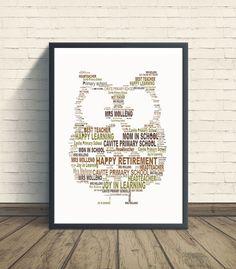 Owl personalised art print owl print owl artwork by pienosudesigns