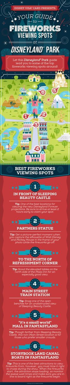 You've never seen anything like the July 4th fireworks show at the Disneyland® Park. Upgrade your view by finding the perfect spot with our fireworks viewing guide.