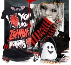 "Happy Halloween"" by scene-x liked on Polyvore 