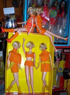 Thrifty Mattel, usin' up the fabrics!