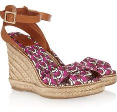 Tory Burch Lily Pad Multi Wedges $111
