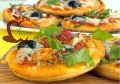 mini pizza a la cervelle de l'agneau - Amour de cuisine