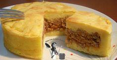 Ragù bianco in crosta di patate | Non solo le torte di Anna