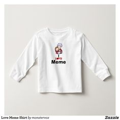be25c19c831e88a9da1bdcfc57cb701e kids t shirts tee shirts love meme shirt nana grandma grandmother grandparent grandchild