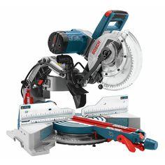 """Bosch CM10GD, 10"""" Dual-Bevel Glide Miter Saw https://cf-t.com/bosch-cm10gd-10-dual-bevel-glide-miter-saw"""