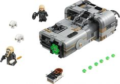 Buy LEGO Star Wars Solo: A Star Wars Story 75210 Moloch's Landspeeder from our Construction Toys range at John Lewis & Partners. Free Delivery on orders over Lego Star Wars, Star Wars Set, Star Wars Toys, Shop Lego, Buy Lego, Pistola Nerf, Nerf Gun Storage, Hunting, Toys