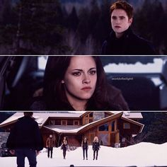 this is Bella and the rest of  the  cullens family