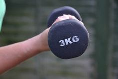 lifting weights to build strength