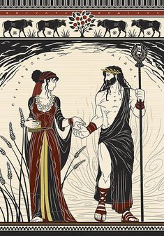 Hades and Persephone by Matthew Kocvara