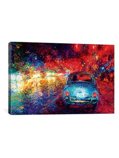 Becca's Bug by Iris Scott (Canvas) by iCanvas at Gilt