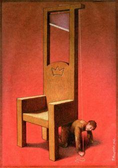 Darkly Satirical Paintings - 16 - Paul Kuczynski