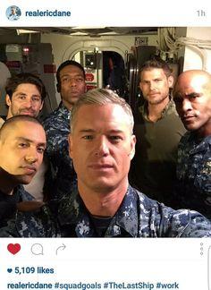 The Last Ship squad.