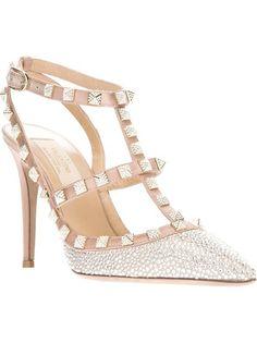 If only I were an heiress!   VALENTINO GARAVANI 'Rockstud' Sandal