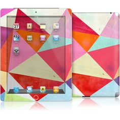 iPad 2/3 Skin Pink Triangle now featured on Fab.