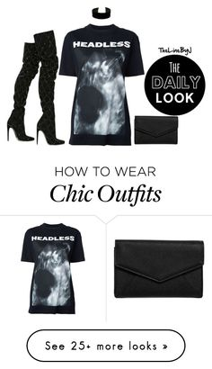 """""""Edgy Chic"""" by sincerelyjae on Polyvore featuring Hood by Air, LULUS, Balmain, chic, Boots, edgy, CasualChic and parisian"""