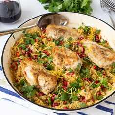 Make This Speedy One-Pot Chicken Couscous Dinner This Week