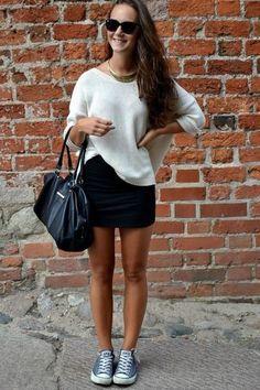 Skirts and chucks